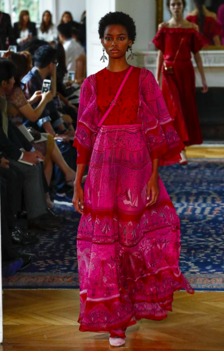All Valentino images by Guillaume Roujas courtesy of NOWFASHION