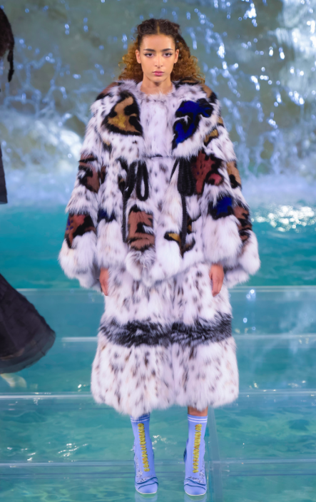Fendi AW16 Couture, courtesy of NowFashion.com